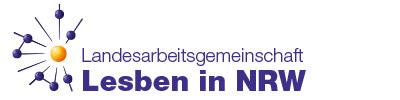 Logo der LAG Lesben in NRW e.V.