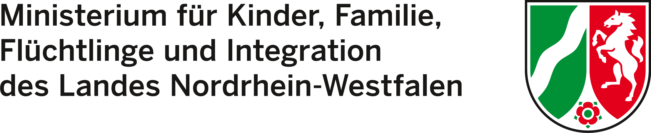 Logo des Ministeriums für Kinder, Familie, Flüchtlinge und Integration des Landes NRW (MKFFI)